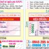 In tem bảo hành có số serial
