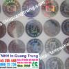 In tem chống giả giá rẻ tại Hà Nội
