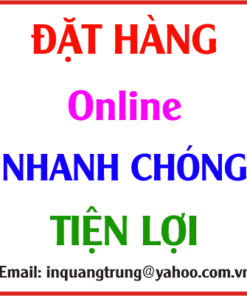 Quy trình đặt hàng online của In Quang Trung