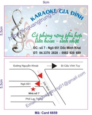 In card visit tại TP Hồ Chí Minh