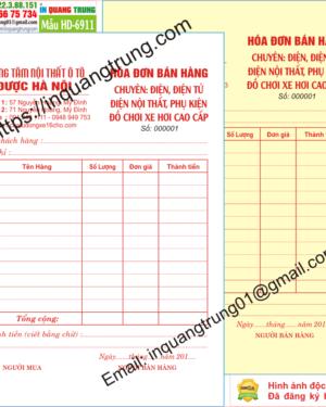 In hóa đơn bán hàng tại An Giang