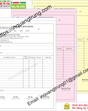 In hóa đơn bán hàng tại Bình Thuận
