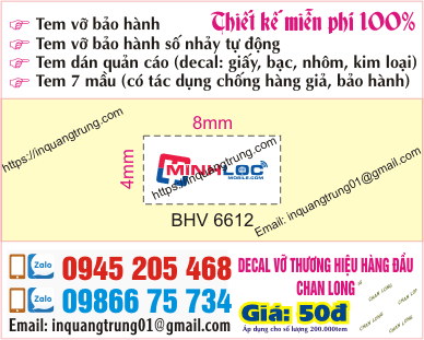 In sticker hcm