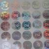 In tem 7 màu giá tốt 90đ, làm mẫu đẹp và miễn phí, giao tem nhận nhà