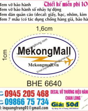 In tem bảo hành tại Xuân Thủy