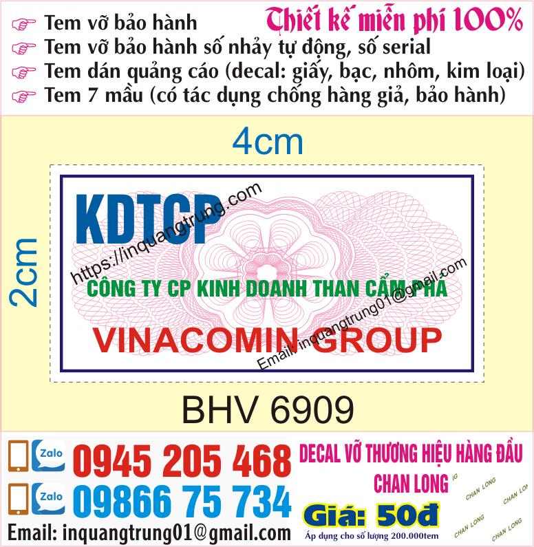 In tem giá rẻ Hà Nội
