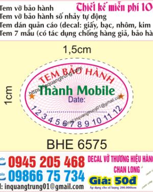 In tem vỡ tại Hà Giang