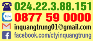 Hotlien công ty In Quang Trung