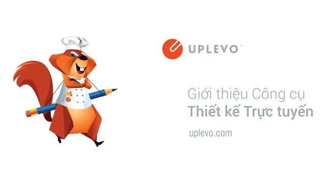 App Uplevo - phần mềm thiết kế poster