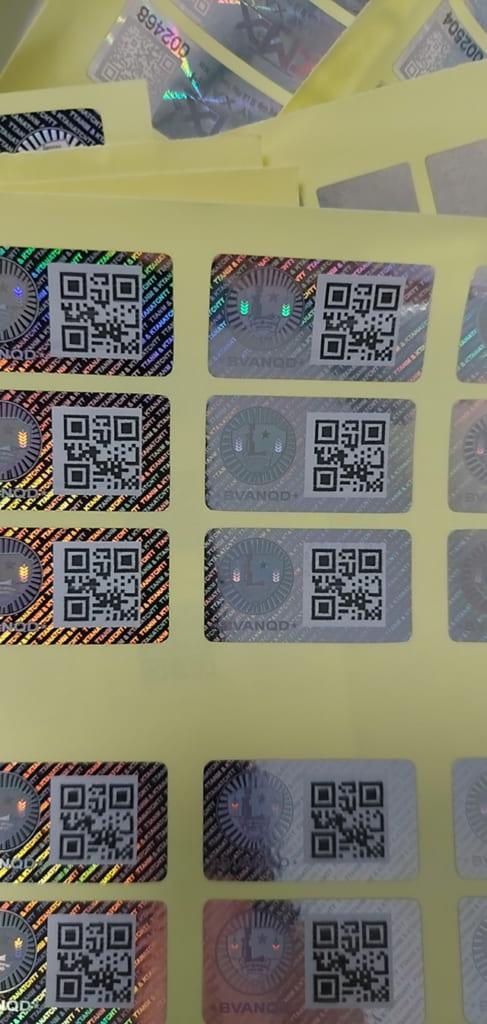In tem chống giả mã QR Code