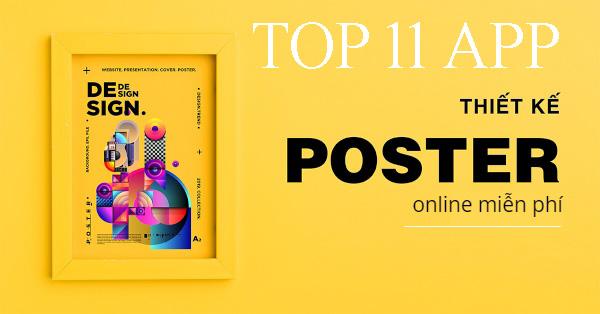 11 phần mềm thiết kế poster đẹp