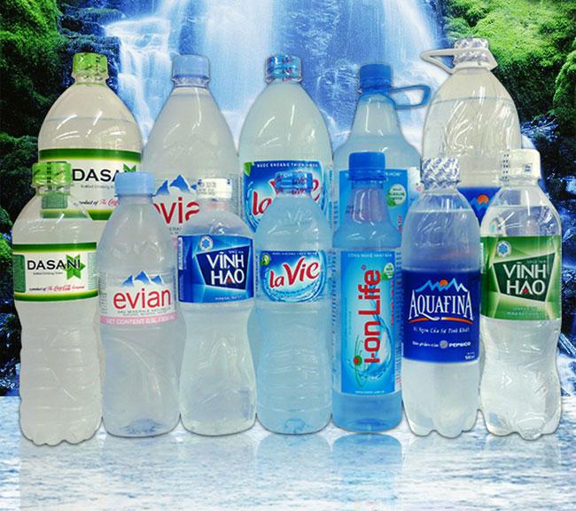 Kích cỡ tem nhãn nước đóng chai đa dạng
