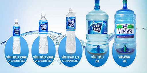 Thiết kế tem nhãn chai nước tinh khiết