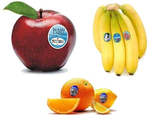 Tem dán trái cây gia tăng lòng tin của khách hàng